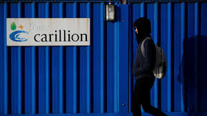 Carillion Stock Chart Carillion Collapse Lays Bare Uk Government Contracting