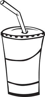 juice clipart black and white.  Clipart Vector Library Juice Clipart Black And White Ra Soda Cup On Clipart Black And White N