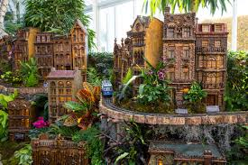 holiday train show at new york botanical garden november 21 january 18