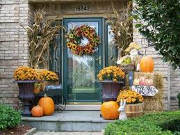 ... Home Decor, Calm Porch Decorating With Flowers Great Tips For Fall Home  Decor: Great ...