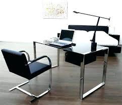 Office furniture ideas Modular Glass Thesynergistsorg Glass Home Office Desk Ary Home Office Furniture Likeable Desks On