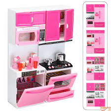 BD308 Bộ đồ chơi mô phỏng căn bếp dễ thương cho các bé gái, vật liệu an toàn,  không độc hại