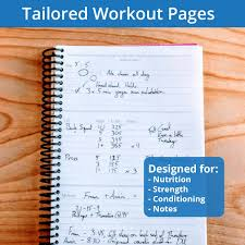 Work Out Journal Fitness Journal