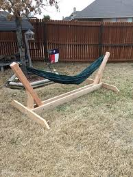 building a wooden hammock stand wood hammock stand plans wooden chair