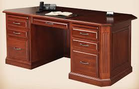 oak solid wood executive desk