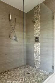 Delighful Modern Bathroom Shower Design Tile Interesting H Intended Decorating