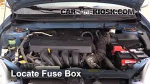 replace a fuse 2003 2008 toyota matrix 2008 toyota matrix xr blown fuse check 2003 2008 toyota matrix