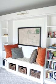 bookshelves for office. Built In Shelves Ikea Office Makeover Reveal Hack Billy Bookcases Bookshelves For M