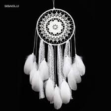 Big Dream Catcher For Sale creative white feather big dream catcher indian lace net Shop 69