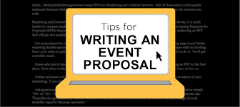 Event Planning Proposal How To Write An Event Planning Proposal Eventplanning Com