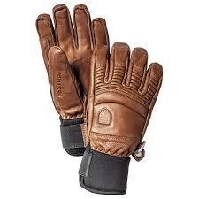 Hestra Ski Gloves Brown