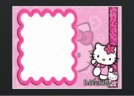 Printable Hello Kitty Invitations Personalized Hello Kitty Invitation Card Luxury Free Personalized Hello