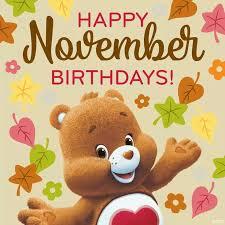 Image result for november birthday clipart