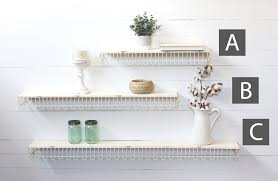distressed white metal shelf metal shelf wall mounted shelf decorative shelves white shelves wall shelves