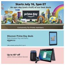it s official prime day 2018 starts on july 16 with more than 1 million deals worldwide