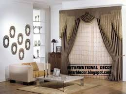 top curtain models and unique dries designs for modern living room