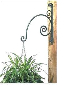 wrought iron plant hangers outdoor standing plant hanger metal plant hanger forged wrought iron plant hangers