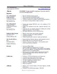 Resume Templates For Openoffice 21 Resume Templates Open Office
