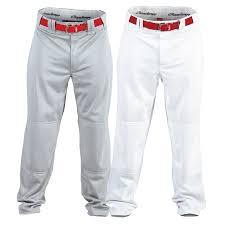 Rawlings Baseball Pants Size Chart Rawlings Semi Relaxed Fit Adult Baseball Pant Pro150