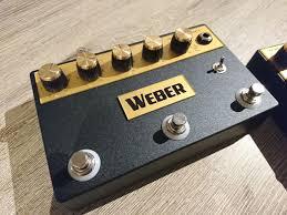 une BOMBE format pédale - Avis Weber Effects Plexi CM V3 - Audiofanzine