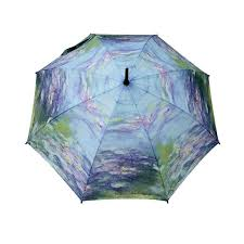 stick umbrella motif water lilies by claude monet 1