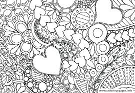 Coloring Pages Flowers Flower Simple Pdf Dropnewsme