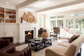 Contemporary Country Living Room Traditional Living Room