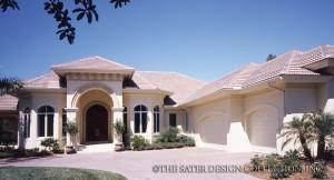 Florida Style House Plans   Sater Design Collection Home DesignsFlorida House Plans