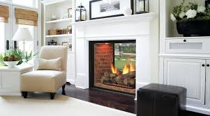 modern gas fireplaces 2 sided fireplace s double nz see through impressive climate control