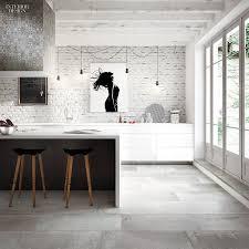 Floor tiles splash back and bench top . Toka by Ceramica Fondovalle. Toka  porcelain tiles in Cliff by Ceramica Fondovalle. 28 Fresh Picks in Flooring