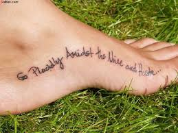 Tattoo Famous Quotes