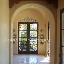 tuscan style wrought iron wall decor