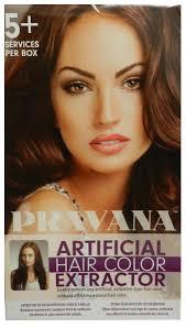 pravana artificial hair color extractor set 0
