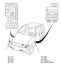 1991 Isuzu Trooper Fuse Box Diagram Isuzu Trooper Fuse Box Diagram