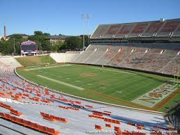 Clemson Memorial Stadium View From Section Ut Vivid Seats