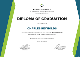 Sample Diploma Certificates Magdalene Project Org