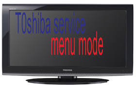 a way to input the service toshiba television