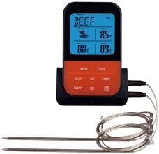HEWE Digital Meat Thermometer BBQ with Smart Cooking Timer Mode and  Backlight with 2 Probes and Timer: Amazon.de: Sport & Freizeit
