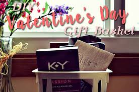 you re in brookelynn intimate diy valentines day gift basket feat k y love and target