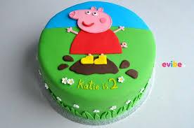 Order Cute Peppa Pig Cake Online Birthday Cake In Bangalore Free