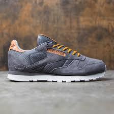 reebok men. reebok men cl leather ol (gray / ash steel)
