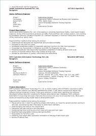 Senior Software Engineer Resume Kantosanpo Com