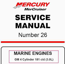 mercruiser gm cylinder cid l service manual wiring mercruiser gm 4 cylinder 181 cid 3 0l service manual