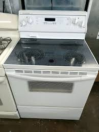 lg glass top stove flat top stove flat top electric stove electric stove used appliances glass lg glass top stove