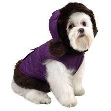 pet dog puppy winter warm fur collar coat jacket