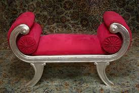 Occasional silver <b>single seater stool</b> — RENAISSANCE