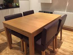 ikea bjursta extendable dining table regarding bjursta wooden in oak veneer brick decor 7