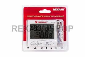 <b>Термометр Rexant</b> Термогигрометр комнатно-уличный <b>70-0515</b>