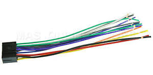 wire harness for jvc kd r640 kdr640 *pay today ships today* ebay jvc wiring harness to 03 cadillac cts image is loading wire harness for jvc kd r640 kdr640 pay