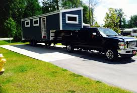 Small Picture A 240 square feet tiny house built on a 5th wheels goose neck